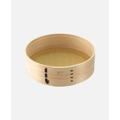 麺道具 ふるい  A-1146 (材質:檜・真鍮) 豊稔企販 味づくり自分流 蕎麦(そば)打 麺打