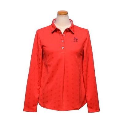 マンシング 長袖ポロシャツ レディース MGWQJB01X 吸汗速乾 長袖シャツ 2020年秋冬新作 M.L.LL.3L