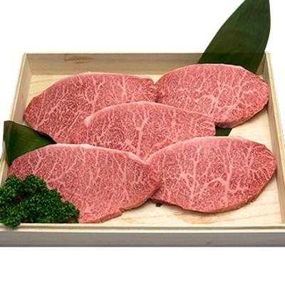やまとダイニング 松坂牛 松阪牛肉 ギフト 桐箱入り イチボステーキ ギフト 桐箱入り 100g×5枚セット A5