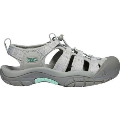 キーン Keen レディース サンダル・ミュール シューズ・靴 KEEN Newport H2 Sandals Grey/Ocean Wave
