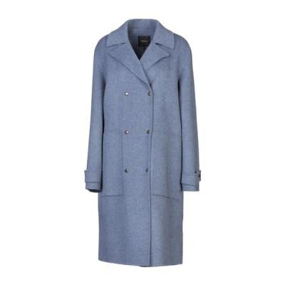 THEORY コート  レディースファッション  コート  その他コート ブルーグレー