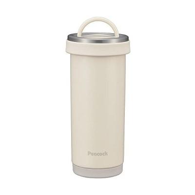ピーコック魔法瓶工業 水筒 ステンレスボトル タンブラーボトル 0.4L スノーホワイト AKS-R40 WY