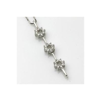 PTダイヤモンドペンダントネックレス