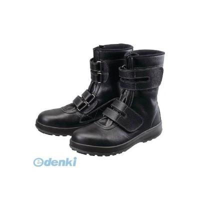 あすつく対応 「直送」 シモン  WS3826.5 安全靴 長編上靴 マジック WS38黒 26.5cm