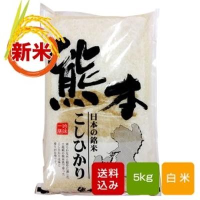 【新米2020】熊本コシヒカリ 新米 5kg 白米 熊本県産 令和2年産 敬老の日 ギフト