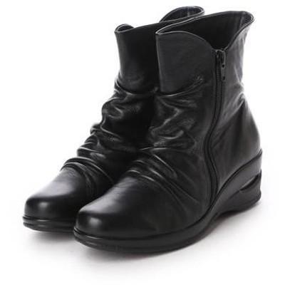 アトリエ Atelier ショートブーツ (ブラック)