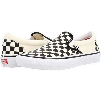 バンズ Skate Slip-On メンズ スニーカー 靴 シューズ (Checkerboard) Black/Off-White