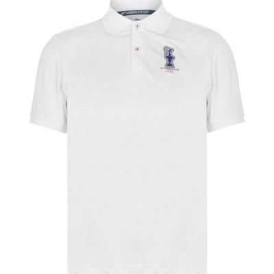 プラダ NORTH SAILS 36TH AMERICAS CUP PRESENTED BY PRADA メンズ ポロシャツ トップス Valencia 2.0 Polo Shirt White