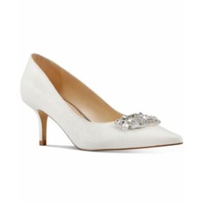 ナインウェスト レディース パンプス シューズ X Neil Lane Women's Always Pumps White Glitter
