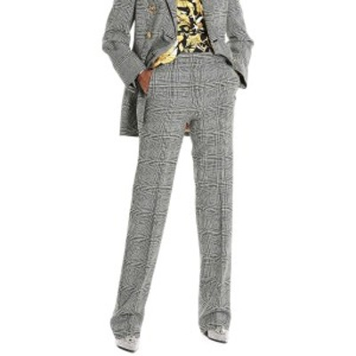 VERSACE/ヴェルサーチ Gray Prince of  Wales pants レディース 秋冬2019 A84435A216676A6008 ju