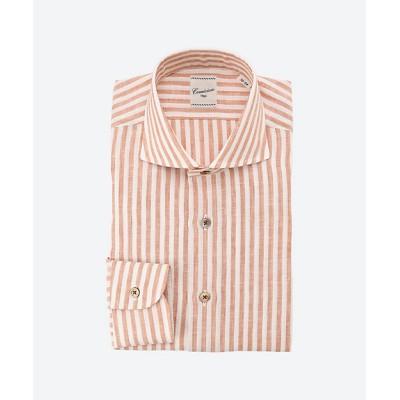 <Camiciaio Oggi(Men)/カミチャイオ オッジ> ドレスシャツCW オレンジ【三越伊勢丹/公式】