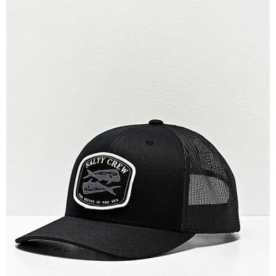 ソルティークルー SALTY CREW レディース キャップ トラッカーハット 帽子 Salty Crew Double Up Retro Black Trucker Hat Black