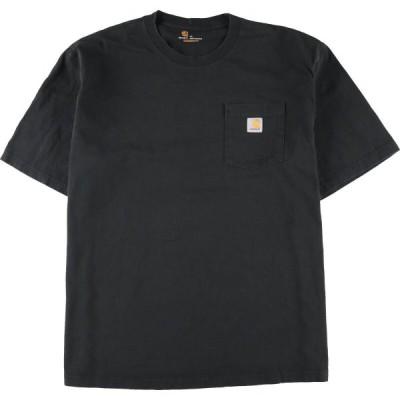 カーハート Carhartt ORIGINAL FIT 半袖 ポケットTシャツ メンズXXL /eaa125295