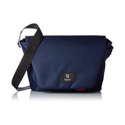 [ミレスト] MILESTO ミレスト メッセンジャーバッグ メンズ レディース 斜めがけ Hutte 紺 ネイビー navy blue