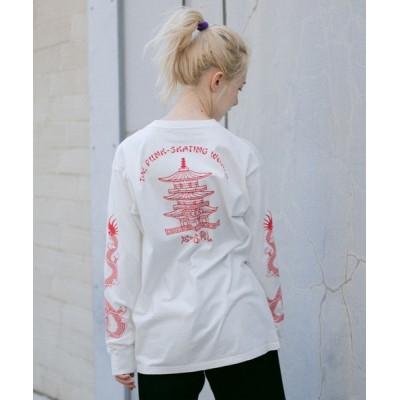 tシャツ Tシャツ CHINESE DRAGON L/S TEE