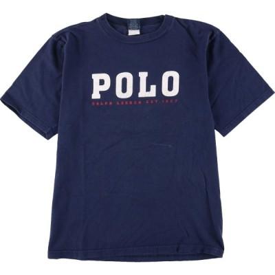 ラルフローレン Ralph Lauren POLO by Ralph Lauren 半袖 ロゴTシャツ メンズS /eaa173202