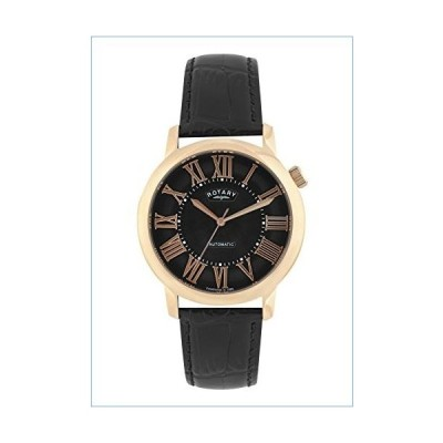 Rotary Mens Analogue Classic Automatic Watch with Leather Strap GLE000012/10S並行輸入品