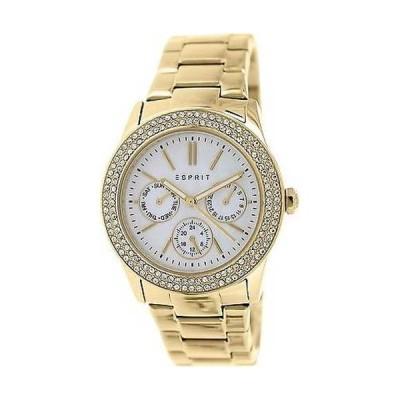 腕時計 エスプリ Esprit レディース Peony ES103822012 ゴールド ステンレス-スチール アナログ クォーツ 腕時計