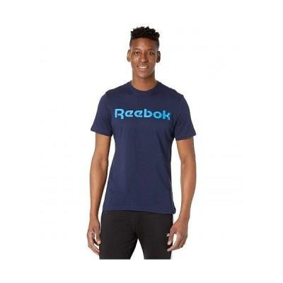 Reebok リーボック メンズ 男性用 ファッション Tシャツ Graphic Linear Read Tee - Vector Navy