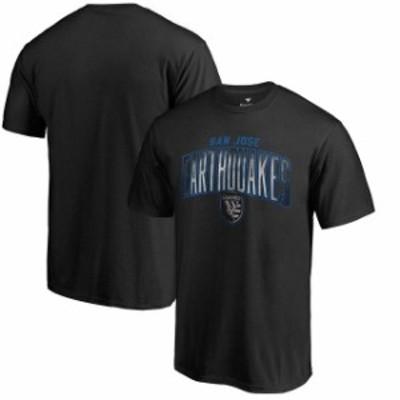 Fanatics Branded ファナティクス ブランド スポーツ用品  Fanatics Branded San Jose Earthquakes Black Arch Smoke T