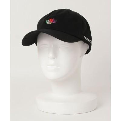 ALWAYS GOOD TIME NEW BASIC STORE / 【FRUIT OF THE LOOM/フルーツオブザルーム】コットンツイルロゴ刺繍ベースボールキャップ/LOGO EMB LOW CAP MEN 帽子 > キャップ