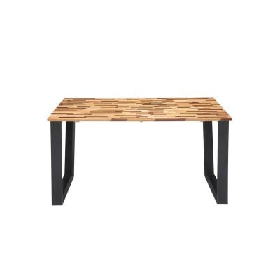 多樹種天板のダイニングテーブル<4人用>