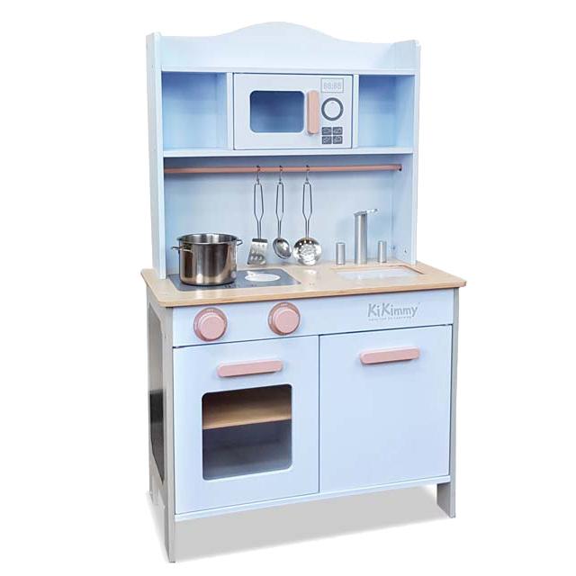 Kikimmy北歐小主廚木製廚房玩具組(4配件組)
