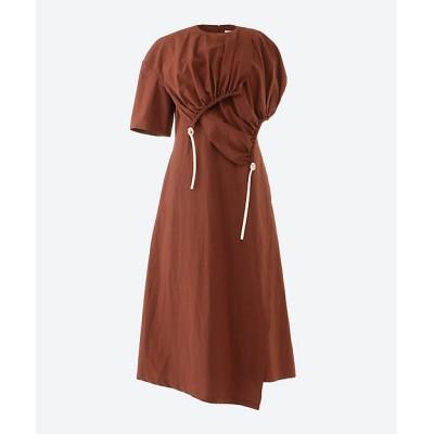 <AKIRANAKA(Women)/アキラナカ> Morgane cotton dress BR BROWN【三越伊勢丹/公式】