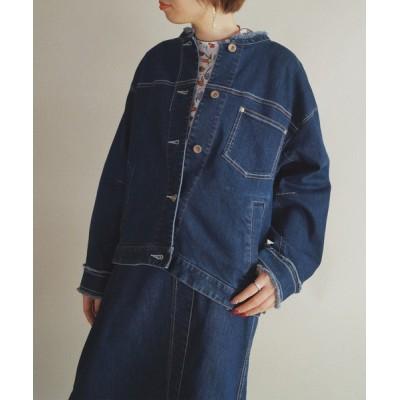 NICOLE / 【NICOLE CLUB】デニムジャケット WOMEN ジャケット/アウター > デニムジャケット