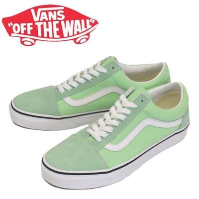 VANS (ヴァンズ バンズ) VN0A4U3BWKO Old Skool オールドスクール スニーカー Green Ash/True White VN210