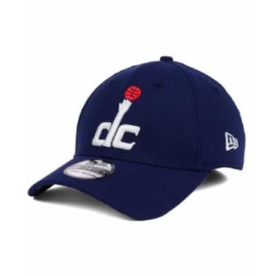 ニューエラ メンズ 帽子 アクセサリー Washington Wizards Team Classic 39THIRTY Cap Navy