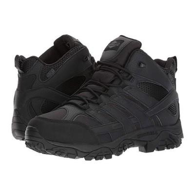 Merrell Work Moab 2 Mid Tactical Waterproof メンズ スニーカー 靴 シューズ Black