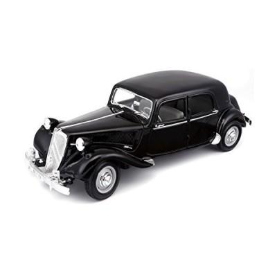 1952 Citroen 15CV 6CYL Black 1/18 Diecast Model Car by Maisto