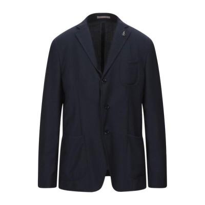 PAOLONI テーラードジャケット  メンズファッション  ジャケット  テーラード、ブレザー ダークブルー