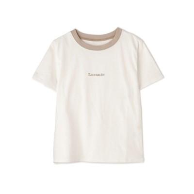 FREE'S MART / リンガーロゴTシャツ WOMEN トップス > Tシャツ/カットソー