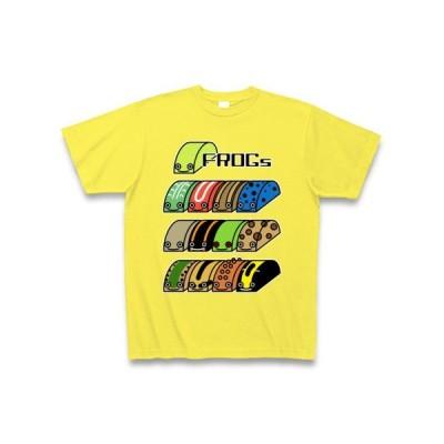 カエル×13 Tシャツ Pure Color Print(イエロー)