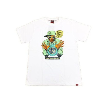 MURAL(ミューラル) Tシャツ WHAT TIME T-SHIRT / WHITE ホワイト
