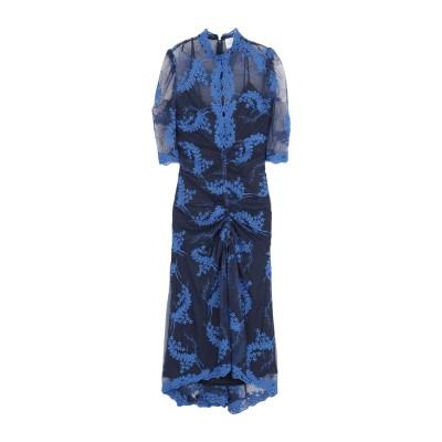 アリスマッコール ALICE McCALL 7分丈ワンピース・ドレス ブルー 8 ナイロン 100% / ポリエステル 7分丈ワンピース・ドレス