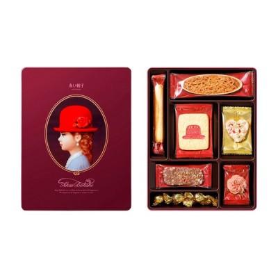 赤い帽子 パープル 16133  クッキー 焼き菓子詰め合わせ お中元 御中元 お歳暮 御歳暮 お年賀 内祝い