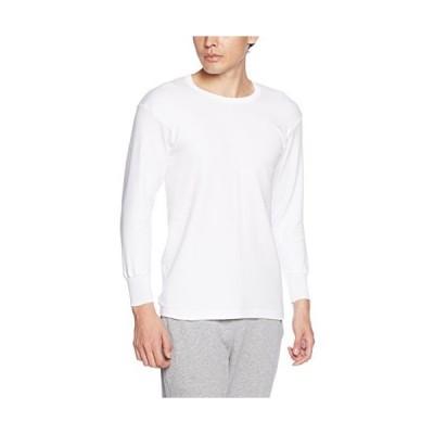 グンゼ インナーシャツ 快適工房 空気の層を暖める 長袖丸首 KH6308 メンズ ホワイト 日本LL (日本サイズ2L相当)