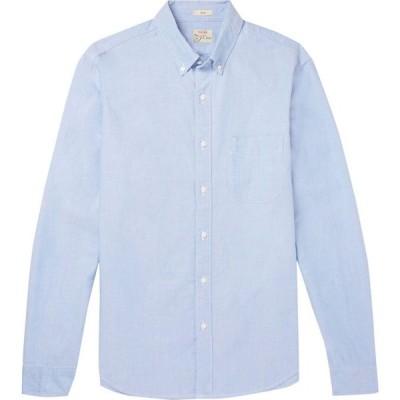 ジェイクルー J.CREW メンズ シャツ トップス solid color shirt Azure