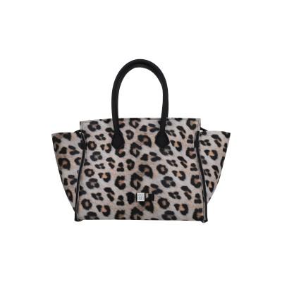 SAVE MY BAG ハンドバッグ サンド ポリエーテル 50% / ナイロン 40% / ポリウレタン 10% ハンドバッグ