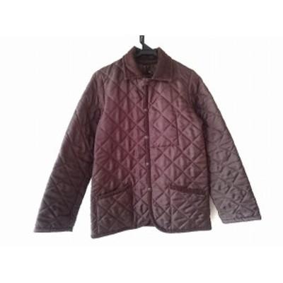 ラベンハム LAVENHAM ダウンジャケット サイズ36 S レディース ブラウン 冬物/キルティング【中古】