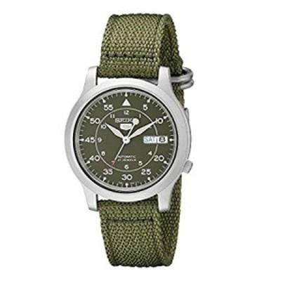 セイコー SEIKO 5 腕時計 自動巻き 海外モデル ミリタリー カーキ グリーン SNK805K2 メンズ