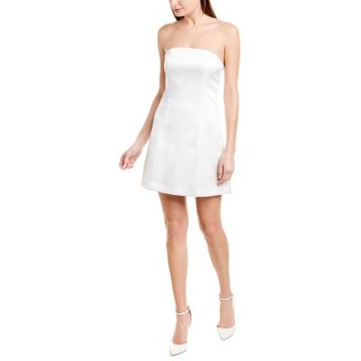 アリス アンド オリビア ワンピース トップス レディース alice + olivia Matira Structured Mini Dress off white