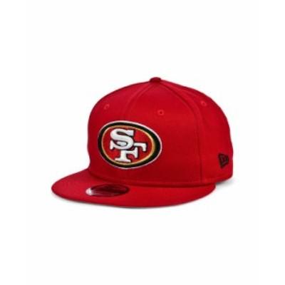 ニューエラ レディース 帽子 アクセサリー San Francisco 49ers Basic 9FIFTY Snapback Cap Red