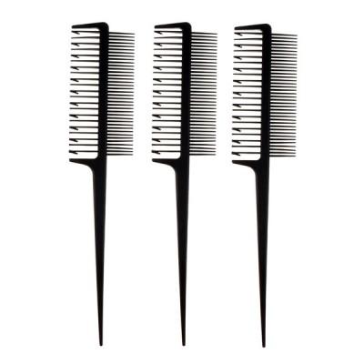 3ピース/個Seioning Foiling Combに適用髪染め/ハイライト/バレイジ