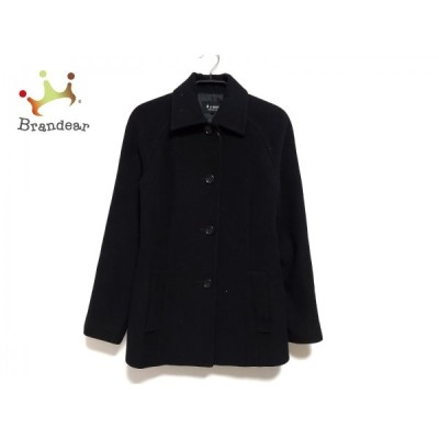 エムプルミエ M-PREMIER コート サイズ36 S レディース - 黒 長袖/ショート丈/秋/冬 新着 20210128