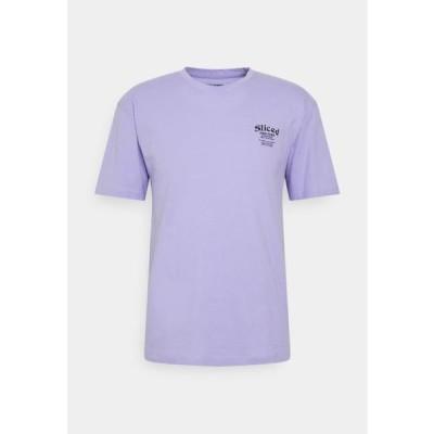 ジャックアンドジョーンズ メンズ ファッション JORHUNGRY TEE CREW NECK - Print T-shirt - lavender