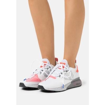 アディダス レディース 靴 シューズ ZX 2K BOOST - Trainers - footwear white/silver metallic/hazy rose